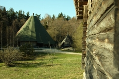 View to the Large Tepee