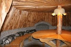 Sauna lobby